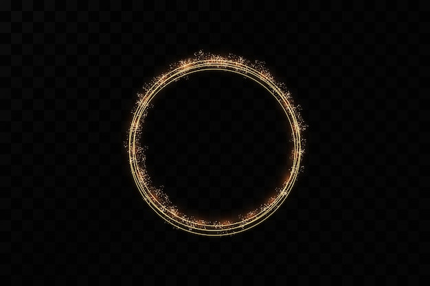 金の指輪。豪華な輝くフレーム。クリスマスの装飾。