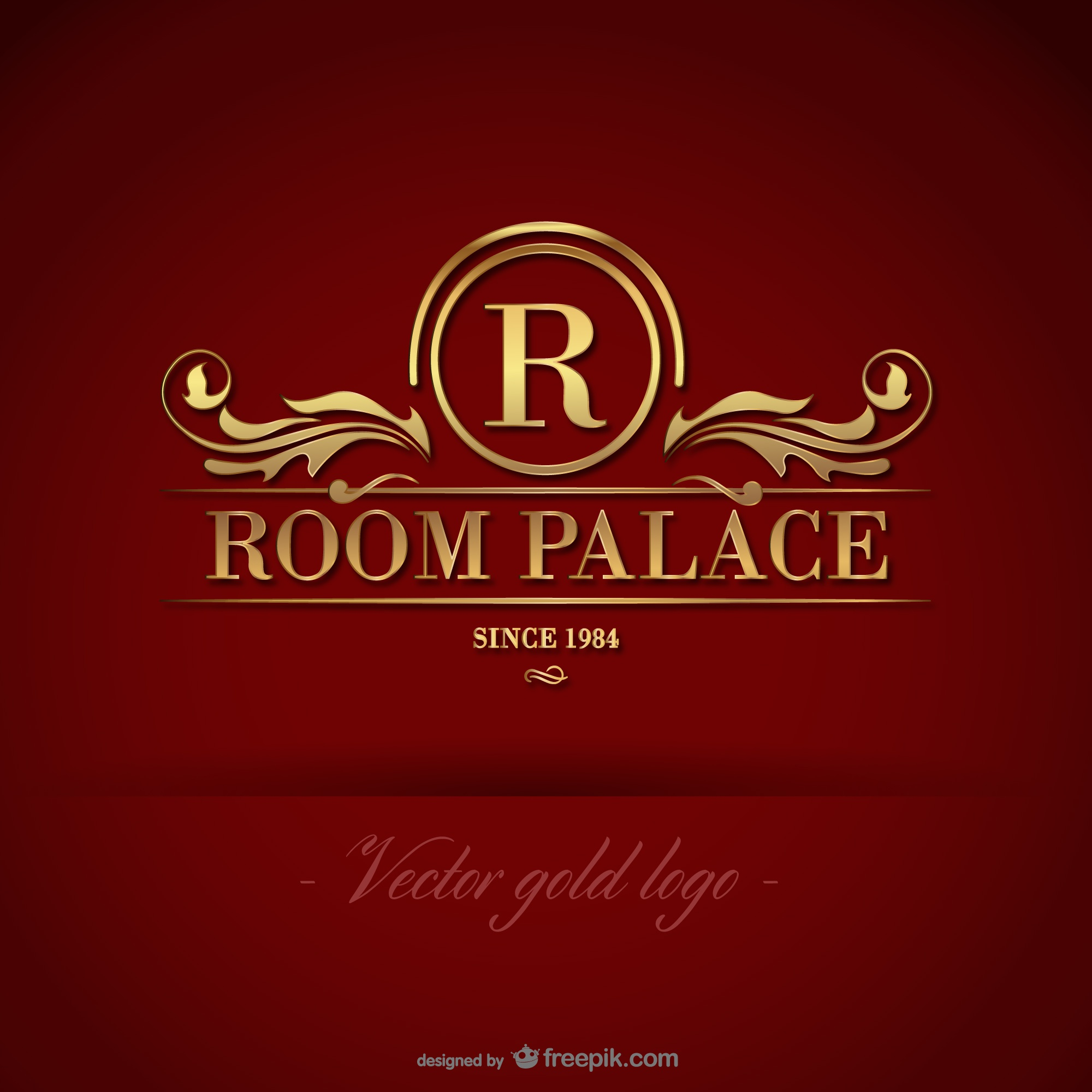 Golden room palace logo