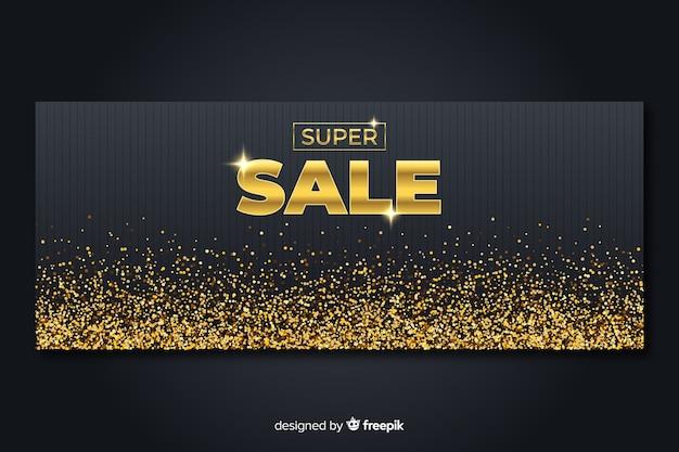 Рекламный баннер golden sales