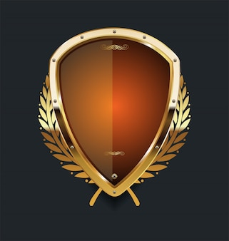 Golden shield