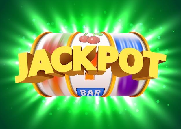 골든 슬롯 머신이 잭팟에서 승리합니다. 큰 승리 카지노 잭팟.