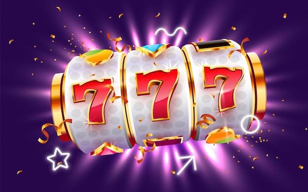 Игровой автомат golden выиграл джекпот big win concept казино джекпот Premium векторы