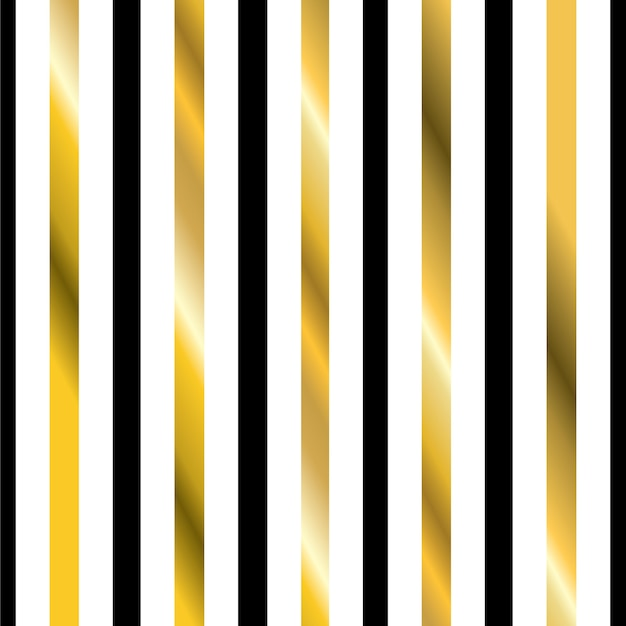 Golden stripes isolated on white luxury background. gold foil lines pattern.