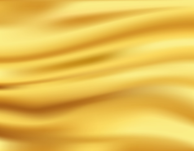 Golden waves background