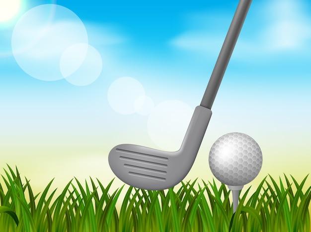 골프 배경 그림