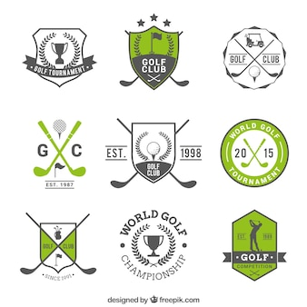 Golf badges