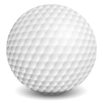 Мяч для гольфа, иллюстрация