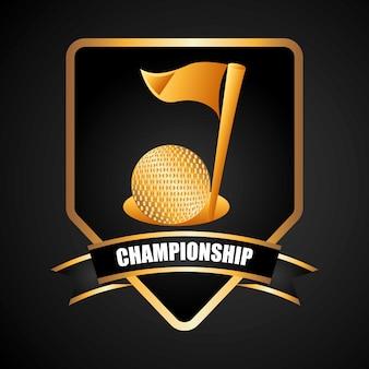 Golf championship design