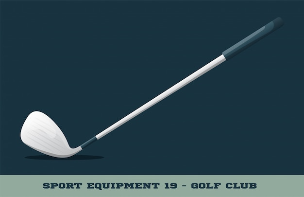 Golf club icon