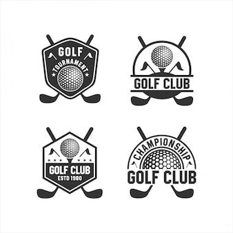 Golf club tournament коллекции логотипов