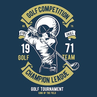 Golf competition