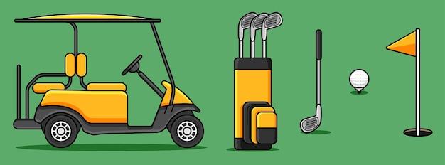 Golf equipment design   set