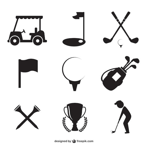 golf vectors photos and psd files free download rh freepik com vector golf cart vector golf driver
