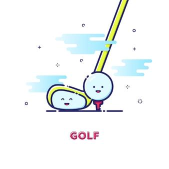 Golf illustration