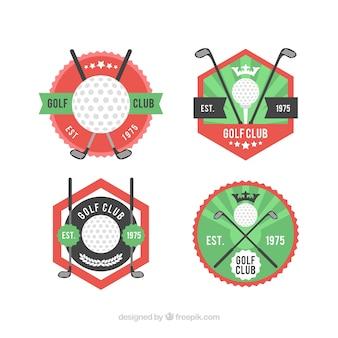 Set di etichette da golf