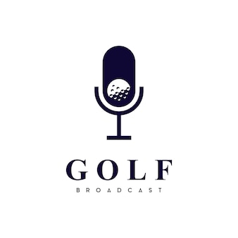 Логотип канала подкаста о гольфах