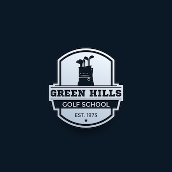Golf school logo