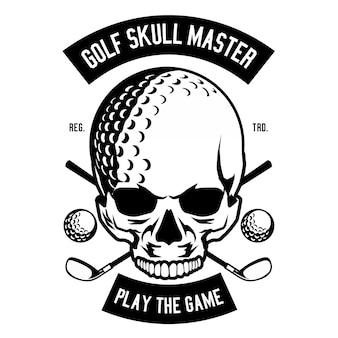Golf skull