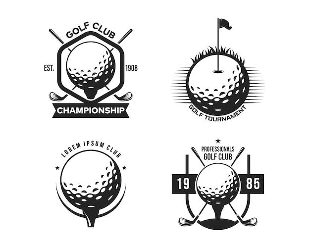 골프 스포츠 로고 디자인 서식 파일