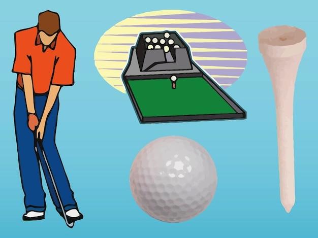 Golfer graphics