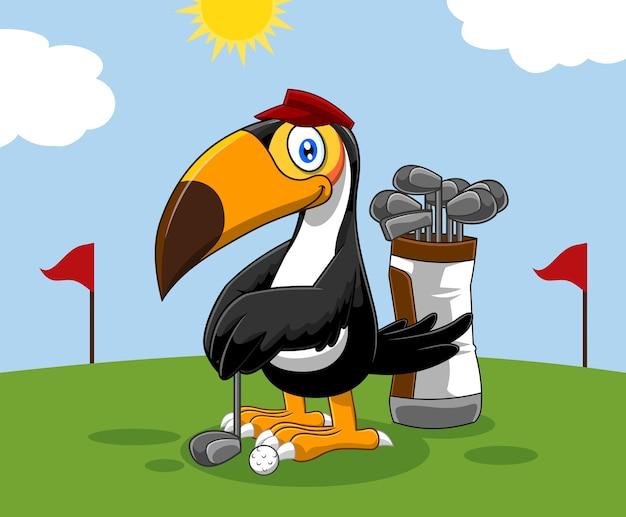 ゴルファーオオハシ鳥漫画のキャラクター。