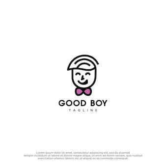 Good boy design vector template
