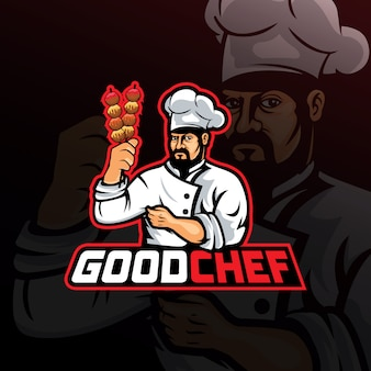 Логотип good chef e sport