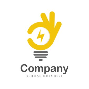 Good energy logo design template