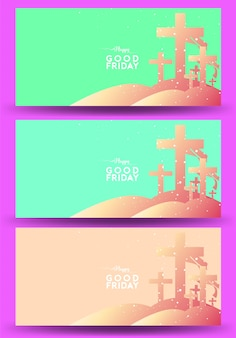 Good friday background design