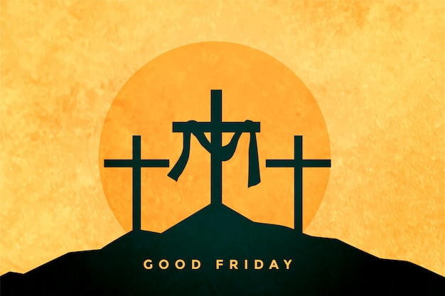 Good friday or easter day background