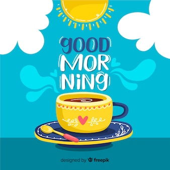 Good Morning Vectors, Photos and PSD files | Free Download