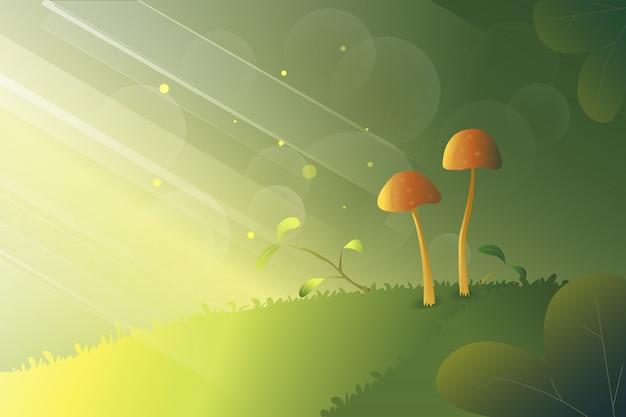 Good morning mushrooms