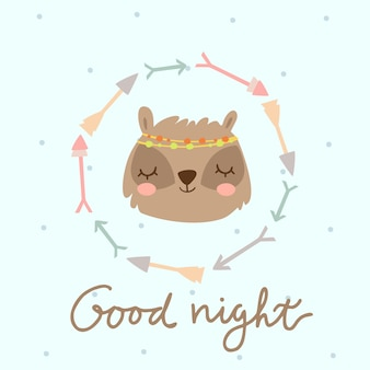 Good night boho badger