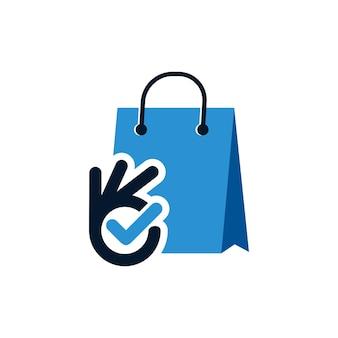 Good shop logo design template