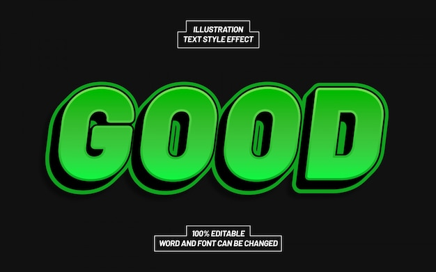 Good text style effect
