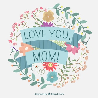 Gorgeous floral mother's day background