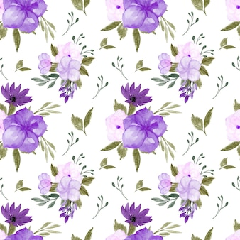 Великолепный фиолетовый цветочный фон