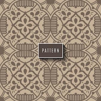 濃い青と白のモロッコ、ポルトガルのタイル、アズレージョ、装飾品からの豪華なシームレスパターン。