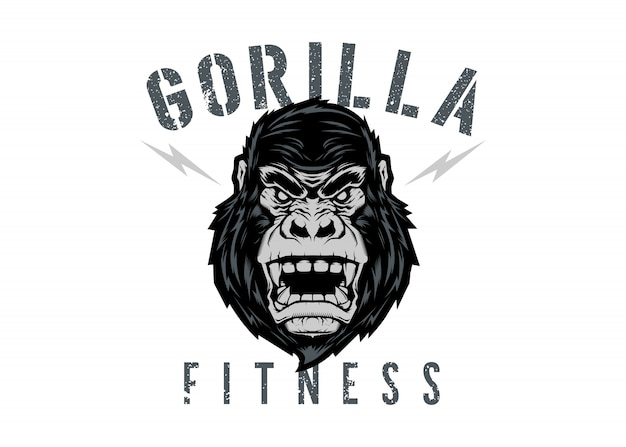 Gorilla fitness logo