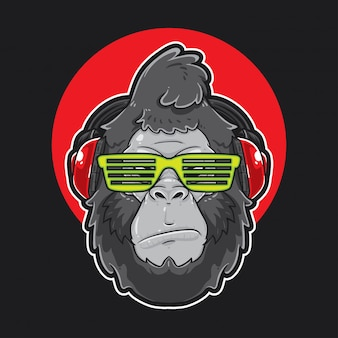 Gorilla head music