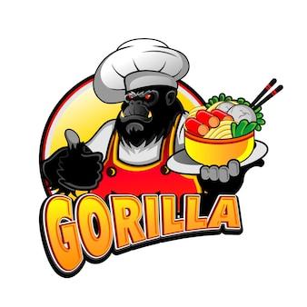 Gorilla masterchef