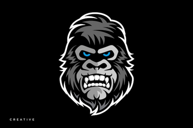 Логотип gorilla киберспорт