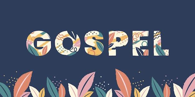 Gospel word concept