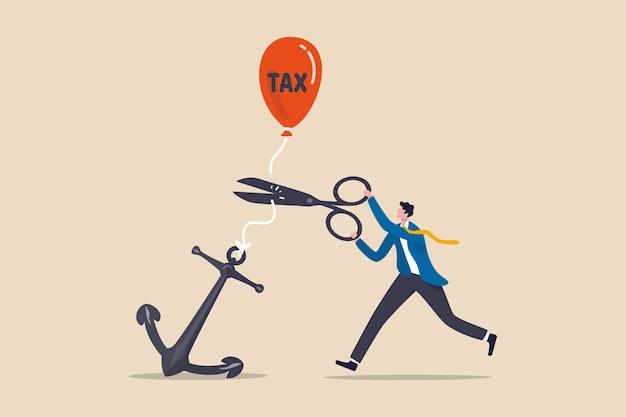 政府が税制を引き上げ、経済危機の概念で所得税の支払いを増やす