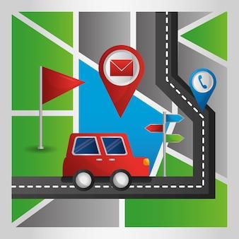 Gps navigation application