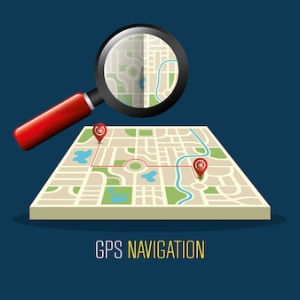 Gps 네비게이션 디자인