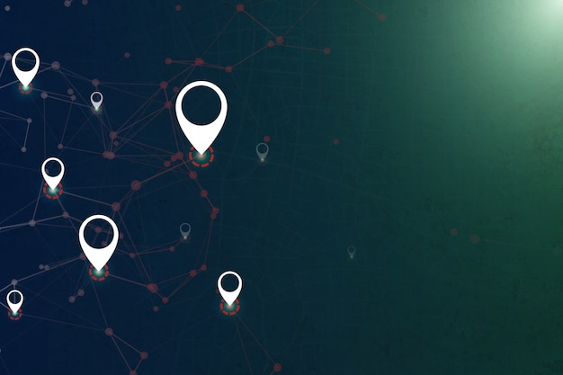 Gps technology tracking with open space
