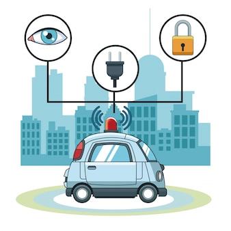 Автомобильная gps-трекерная технология