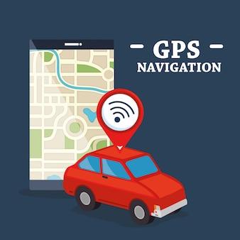 Смартфон с gps-навигацией