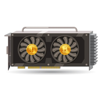 Gpu videocard for mining isolated